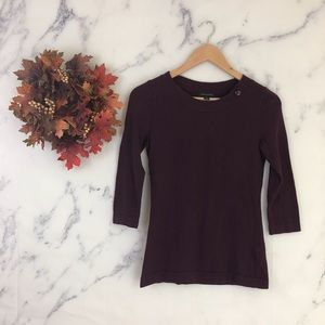 Banana Republic Crewneck Sweater in Purple